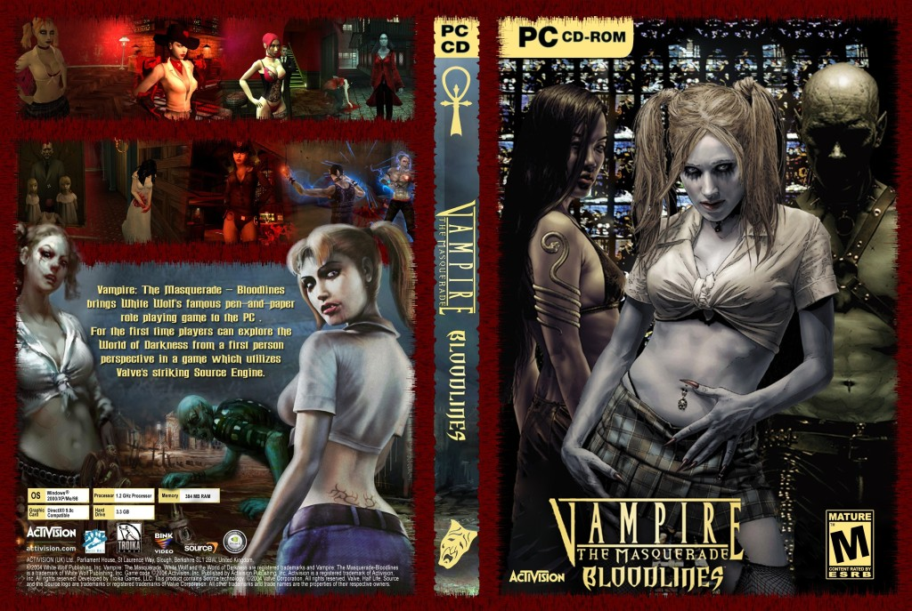 Vampire the masquerade bloodlines русификатор